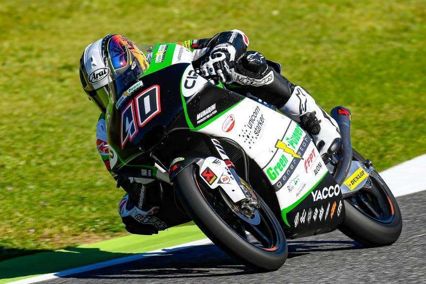 Darryn Binder, CIP Green Power, Gran Premio d'Italia Oakley