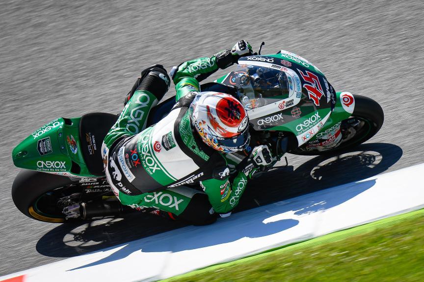 Tetsuta Nagashima, Onexox TKKR SAG Team, Gran Premio d'Italia Oakley