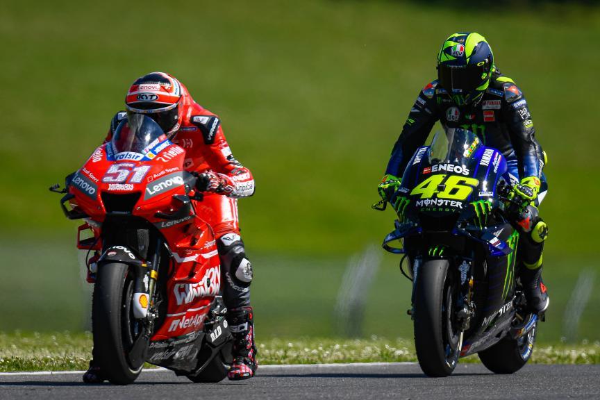 Valentino Rossi, Michele Pirro, Gran Premio d'Italia Oakley
