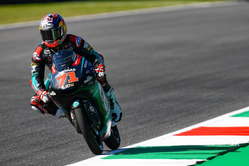 Ayumu Sasaki, Petronas Sprinta Racing, Gran Premio d'Italia Oakley