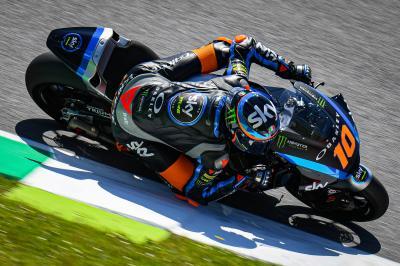 Marini sets the early Moto2™ marker in Mugello