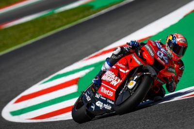 Ducati salva los muebles; Rins, Lorenzo y Rossi quedan fuera