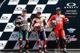 Marc Marquez, Fabio Quartararo, Danilo Petrucci, Gran Premio d'Italia Oakley