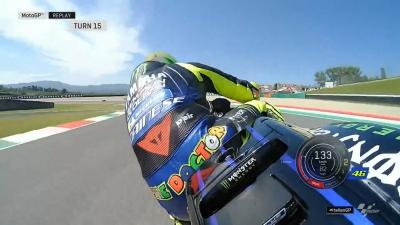 Here is the mistake which cost @ValeYellow46 a place in