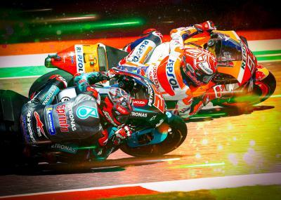 Quartararo pousse Márquez dans ses retranchements en Q2