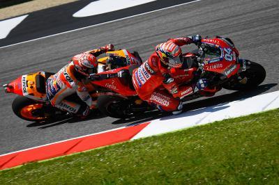 Ducati, la kryptonita del Márquez más terrenal