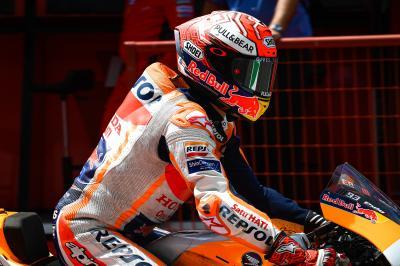 Márquez domina el Warm Up del resurgir de Suzuki y