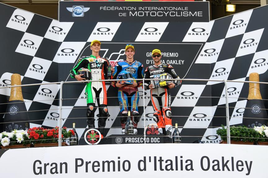 Alex Marquez, Luca Marini, Tom Luthi, Gran Premio d'Italia Oakley