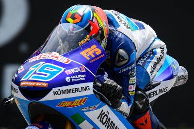Rodrigo tops morning Warm Up in Moto3™
