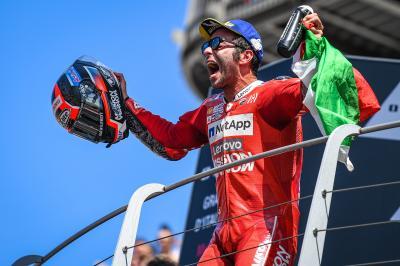 決勝レース:ペトルッチがホームのムジェロでキャリア初優勝
