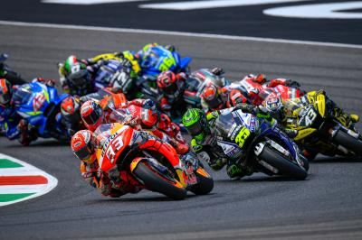 Top ten fight in MotoGP™ as fierce as it has ever been