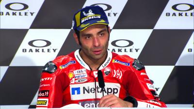 Petrucci's outpouring of emotion resumed in Press Conference