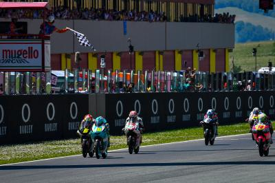 11 and counting: Moto3™ musters up another different winner