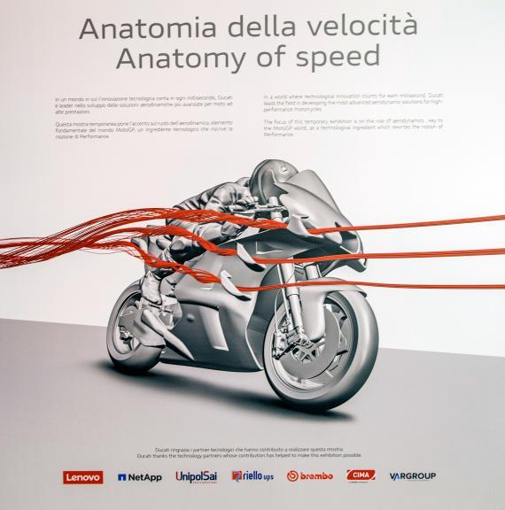 Ducati Anatomía de la Velocidad