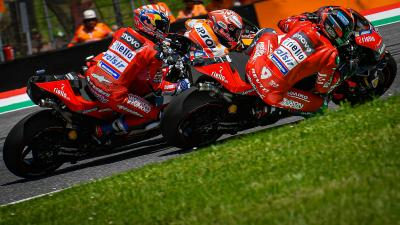 The battle of Mugello: all the emotion in every language