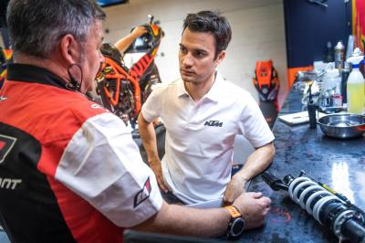 "Pedrosa testing something ""very interesting"" in Brno"