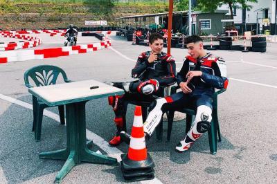 Arbolino dedica su primera victoria a Lorenzo