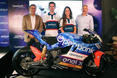 Openbank, patrocinador clave del Ángel Nieto Team en MotoE™