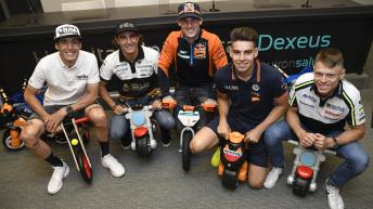 MotoGP™ stars visit Barcelona children's hospital