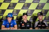 Alex Rins, Maverick Vinales, Aron Canet, Gran Premi Monster Energy de Catalunya