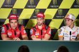 Danilo Petrucci, Andrea Dovizioso, Marc Marquez, Gran Premi Monster Energy de Catalunya