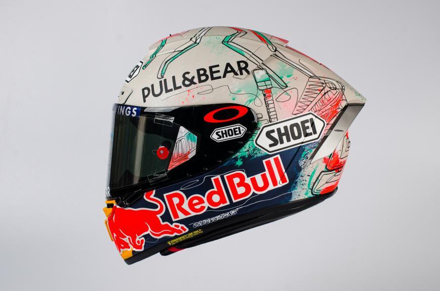 Marc Marquez, Helmet Gran Premi Monster Energy de Catalunya
