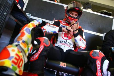 """Nakagami: """"I'm suprised to be top Honda, nobody expected it"""""""