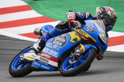 Lopez remains Moto3™ fastest despite Dalla Porta topping FP2