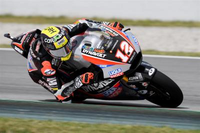 Lüthi leads the way in Moto2™ FP1
