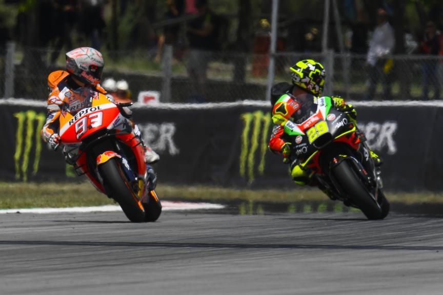 Marc Marquez, Andrea Iannone, Gran Premi Monster Energy de Catalunya