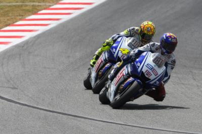 On this day: Rossi and Lorenzo's historic fight