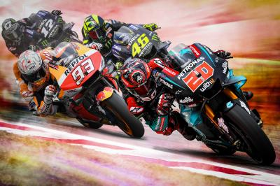 Quartararo reina en el Circuit en el día grande de Yamaha