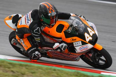 Canet sets new outright lap record to top Moto3™ FP3