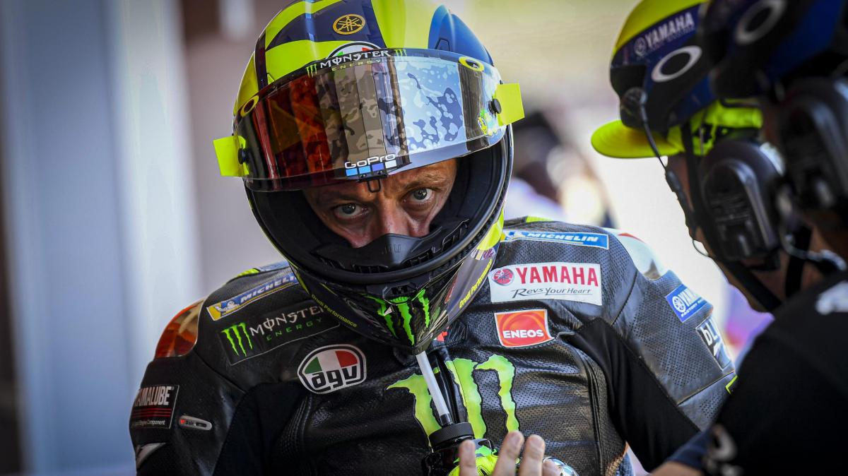 """Yamaha pace """"very good news"""" for Rossi"""