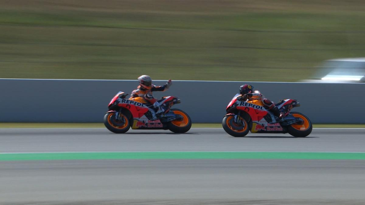 What happened between Marquez and Lorenzo in FP3?