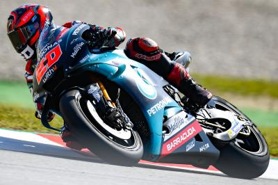 Quartararo ousts Marquez in Warm Up