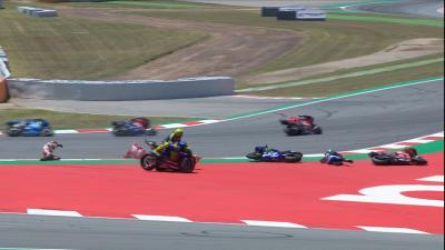 Lorenzo takes out Dovizioso, Rossi and Viñales!