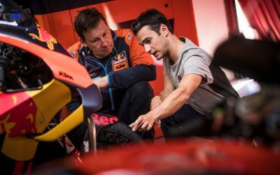 MotoGP™ exprime al máximo el Circuit en un test con Pedrosa