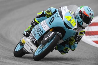 GP de Catalogne : Dalla Porta survole le warm-up Moto3™