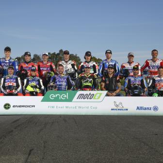 MotoE™ -Fahrer sind bereit für den dreitägigen Valencia-Test