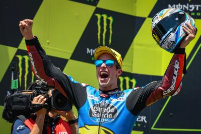 Marquez wraps up Moto2™ hat-trick at home