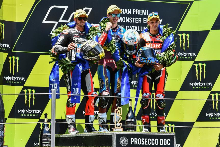 Alex Marquez, Tom Luthi, Jorge Navarro, Gran Premi Monster Energy de Catalunya