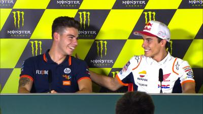 "Marquez: ""But... Who is Augusto Fernandez?"""