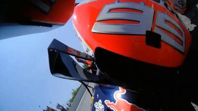 OnBoard-Video: Betrachte den Lorenzo-Crash in Katalonien