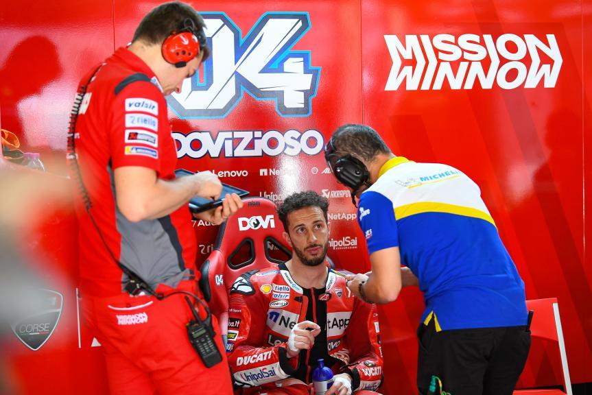 Andrea Dovizioso, Mission Winnow Ducati, Catalunya MotoGP™ Test