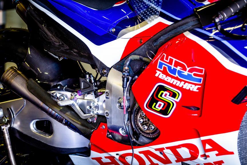 Stefan Bradl, HRC Team, Catalunya MotoGP™ Test © Thomas Morsellino