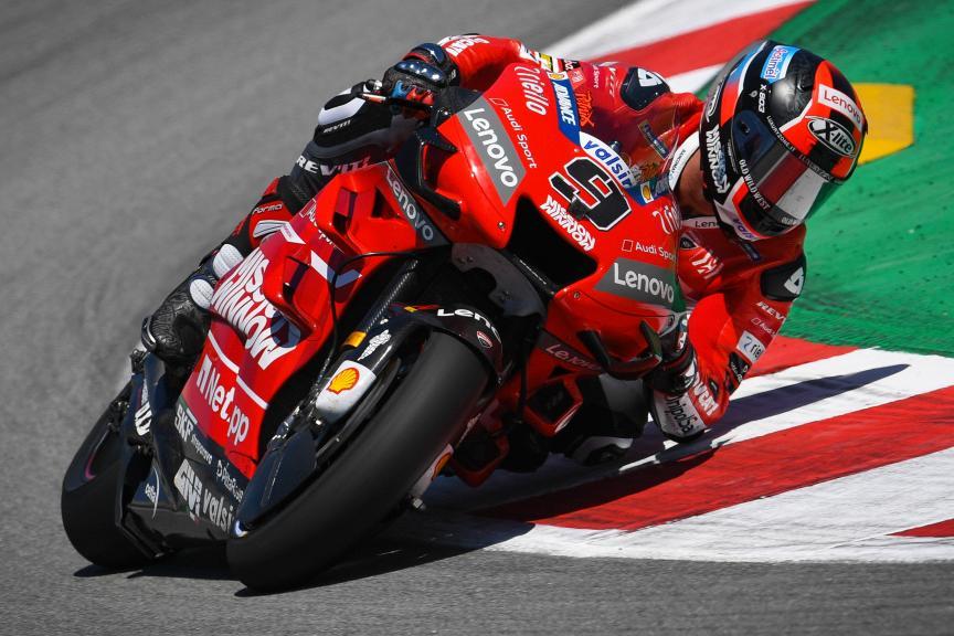 Danilo Petrucci, Mission Winnow Ducati, Catalunya MotoGP™ Test