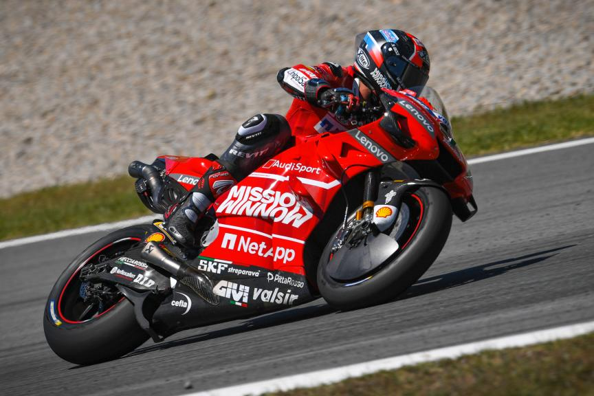 Danilo Petrucci, Mission Winnow Ducati, Catalunya MotoGP™ Test