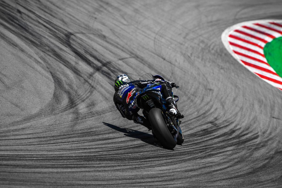 Viñales completes 98 laps to head Morbidelli in testing
