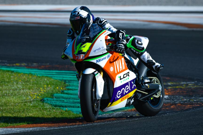 Randy De Puniet, LCR E-Team, Valencia MotoE™ Test